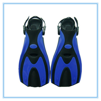 Snorkel high quality submersible diving fins flipper adult diving fins