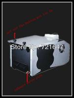 Free shipping 3000w low fog machine DMX512 or line contol 3000w low smoke machine with normal ice