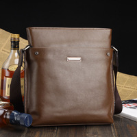 2013 Fashion men LUYIVARIYAEN business bag shoulder bag High Glade Genuine leather messenger ,handbag Free gift
