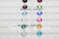 2013 floating charm 5mm bling sparking  round birthstone 12 colors 360pcs/lot no glass living locket this order Xmas gift