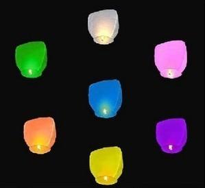 Chineses Lantern Sky Lantern Kongming Lantern Flying Wishing Lamp Wedding Party Paper Lights(20/lot)Wedding Party Paper Lights