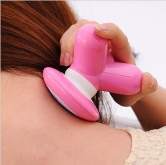 6pcs/lot  New mini mushroom trigonometric massage device small electric Relaxation massage usb line  free shipping  zx074