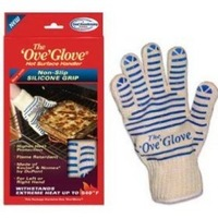 OVE' GLOVE HOT SURFACE HANDLER WITH NON-SLIP SILICONE GRIP