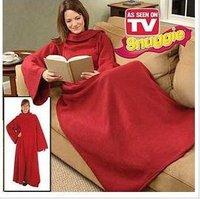 Snuggie Original Fleece Blanket with Sleeves BCRF Red As Seen On TV