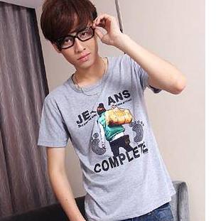 2023 male short-sleeve T-shirt slim short-sleeve t-shirt male short-sleeve men's clothing basic shirt p10