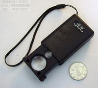 Portable 30 60 mirror magnifier money detector jewelry magnifier