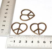 20PCS Antique Bronze Alloy Metal Charms Pendants Arrow Heart DIY Necklace Bracelet Jewelry Findings