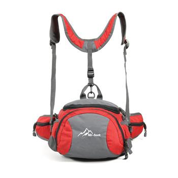 Mr-foot 10 5l fashion big sports waist pack small backpack fitness 1123 storage bag