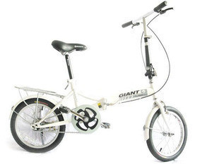 Giant bicycle conway 1.0 folding bike 16 aluminum alloy rim white(China (Mainland))