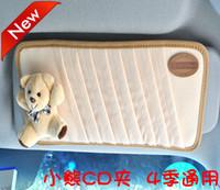 Free shipping Car multifunctional cd bag car cd folder sun-shading board cover sun-shading board cover bear