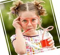 20pcs/lot free shipping Fashion novelty originality DIY tubularis Glasses Roller Coaster sucker suction tubes