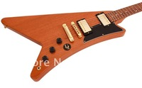 Customized orders USA Model Moderne XI Trans Amber Electric Guitar wholesale,sales promotion,2012 new arrival