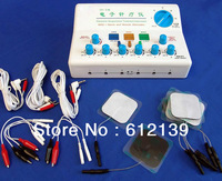 Brand New Acupuncture Needle Stimulator Treatment therapy machine Electric Massager 6 output patch
