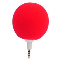 Free Shipping Cute Round Ball Audio Dock Hi-Fi Music Speaker with 3.5mm Plug