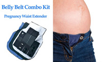 Maternity Belly Belt Combo Kit Maternity Waist Extender Pregnancy Waistband Extender Set