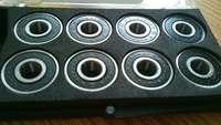 free shipping skateboard wheel bearing swiss 608RS fast skateboard bearings with box