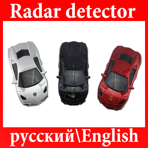 car Car Anti-Radar Detector Russina/English Speaking vehicle speed control detector(China (Mainland))