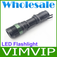 5Pieces/Lot  w109 zoomable Best q5 Led Flashlight CREE brightest Led Flashlight+Wholesale