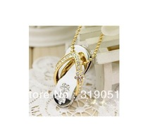Free Shipping!!metal crystal slippers USB 2.0 Flash Memory Stick Pen Drive 2GB 4GB 8GB 16GB 32GB