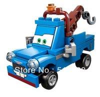Original Box Bela PIXAR Cars Ivan Mater Building Blocks Sets 52pcs Educational DIY Construction Bricks Toys Children