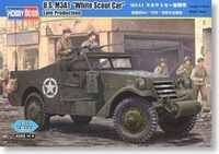 Hobby Boss 82452 1/35 M3A1 White Scout Car Late plastic model kit