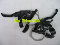 Free shipping Original alloy EF51-8 bike/bicycle conjoined dip Brakes/8speed piece dip Shifter levers