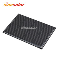 6V 200mA High Efficiency Monocrystalline Solar Cell for electronic DIY 109x69.5mm 1.2W