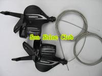 Free shipping Original alloy M360 bike/bicycle fission Shifter leavers/bike shifter