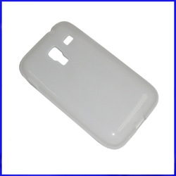 IN STOCK!!1 pc case for Samsung galaxy ace plus s7500 ,clear Plain TPU gel shell case for Samsung galaxy ace plus ,Free shipping(China (Mainland))