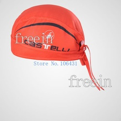 2012 New Arrival High Quality Red Castelli cycling handband pirate cap skull cap(China (Mainland))