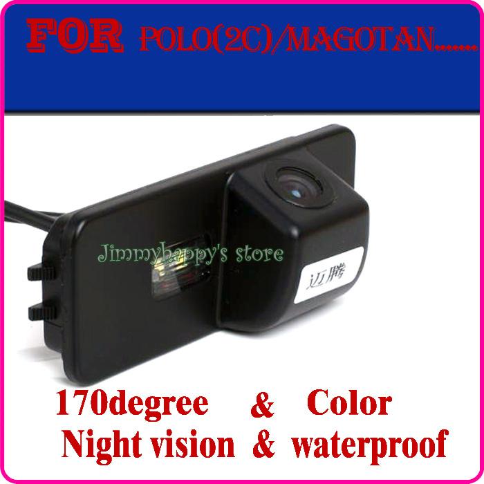 car rear view camera parking monitor for VW passat PHAETON/SCIROCCO/GOLF 4 5 6 MK4 MK5 MK6/EOS/POLO/BEETLE/LUPO/LEON/Altea(China (Mainland))