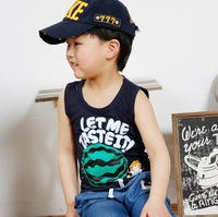 2013 new baby boy clothing summer,Korea  fashion boy t-shirt white and black  cotton boy garment,boy outfits free shipping