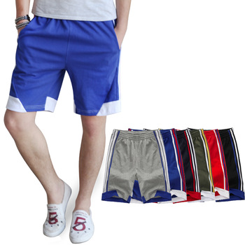 FreeShipping Summer new arrival casual knee-length pants male shorts capris male plus size shorts fitness pants
