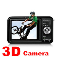 Dropshipping new 3.0inch 12MP digital 3D video camera recorder 2D 3D videos recorder wholesale and free shipping