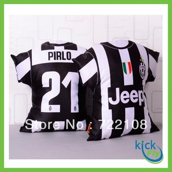Italia King Juventus club Andrea Pirlo jersey NO. 21 cushion pillow pick design new