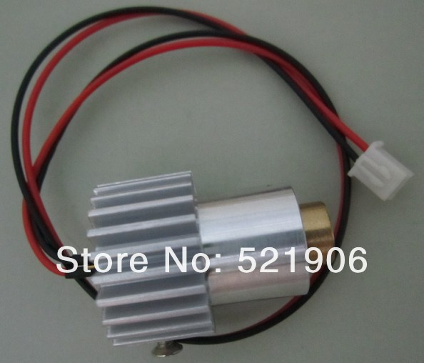 532nm150mW Green laser module laser diode laser lighting with heatsink no Driver(China (Mainland))