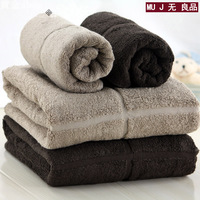 Free Shipping 100% cotton high quality at home towel big towel 100% cotton absorbent towel simple and elegant