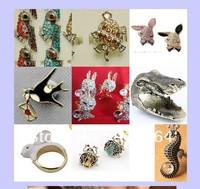 New Wholesale Bulk 27pcs Fashion Jewelry Prom Bridal Retro Lovely Animal Rings    free shipping