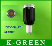 DHL FEDEX UPS TNT EMS free shipping  new and best quality GU10 10w cob led spotlight