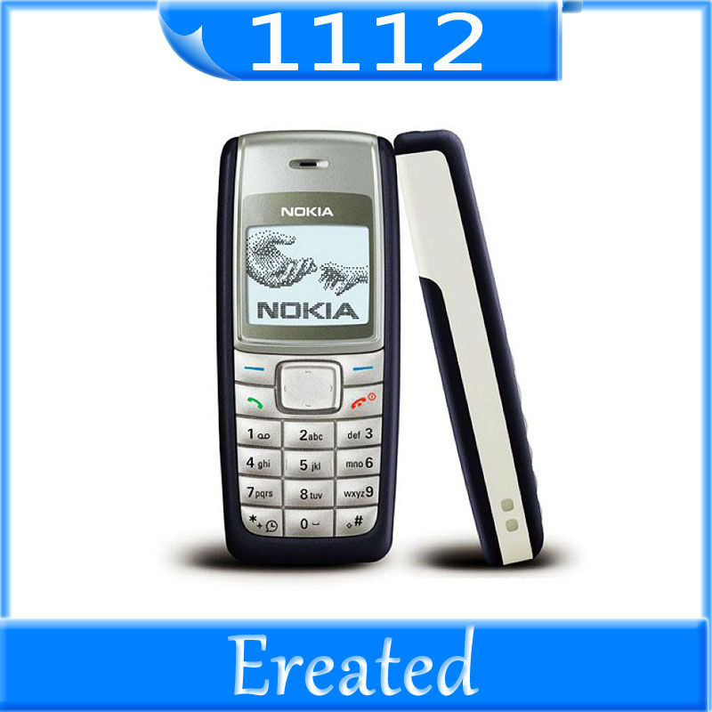 EMS Freeshipping Nokia 1112 original mobile phones 5pc/lot(China (Mainland))