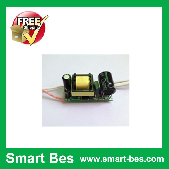 Free Shipping 20pcs/lot Smart Bes LED drive voltage 5-7X1W input voltage 110-220 - v Driver Adapter Power Supply(China (Mainland))