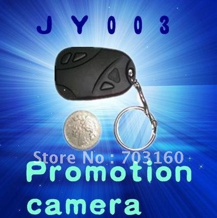 Wholesale 12pcs mini hd 1280*1024JPG 808 car key cctv camera(China (Mainland))
