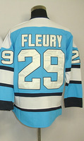 #29 Marc-Andre Fleury Men's Authentic Third Blue Hockey Jersey