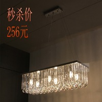 Lighting modern dining room lamp led crystal lamp crystal pendant light brief fashion bedroom lamps bar lamp