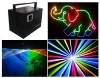 Full Color Laser Light Animation Show Equipment Analog ILDA 4500mW RGB Laser Projector DT30K+R2W,G500,B2W+flightcase