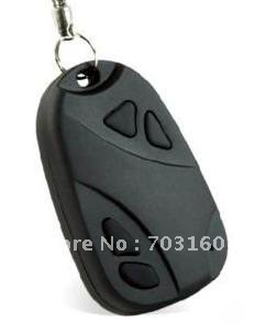 Hotsale 12pcs/lot mini hd 1280*1024JPG 808 car key hidden camera(China (Mainland))
