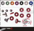 Tansky - 8PCS/SET JDM Style Fender Washers Bumper Washer Lisence Plate Bolts Kits for CIVIC ACCORD TK-FW001(China (Mainland))