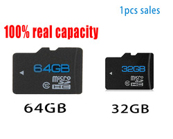 FREE SHIPPING 1pcs/lot SD 32GB 64GB class 10 Micro SD Memory Card TF 32GB With the packing High speed data transmissio1(China (Mainland))