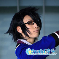 K  Fushimi Saruhiko  high-temperature anime cosplay wigs