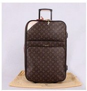 Fashion travel box Monogram Canvas Pegase 55 Rolling Luggage trolley travel bag traveling duffel bag(China (Mainland))